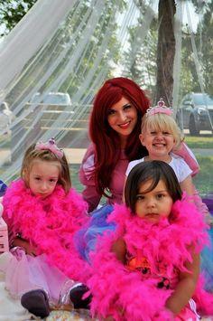 Ever After Princess Parties Mermaid Princess, Princess Party, Princess Makeup, Ever After, Ariel, Princesses, Birthday Parties, The Vow, Anniversary Parties