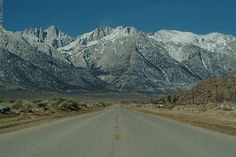 Whitney Portal Road, California
