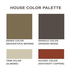 Craftsman Exterior Color Schemes Bungalow Paint Colors