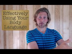 How to Effectively Use Your Body Language as a Tour Leader - Body Language Tips - YouTube