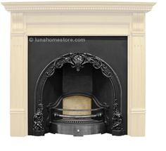 Cherub Cast Iron Fireplace Insert (Highlight)Cherub Cast Iron Fireplace Insert (Highlight) Georgian design circa 1860 HIGHLIGHT finish Suitable for gas or solid fuel option Flue type class 1 & 2 FREE delivery Online Sale Price: Cast Iron Fireplace Insert, Fireplace Inserts, Cherub, Georgian, Free Delivery, Highlight, Interiors, Type, Bedroom