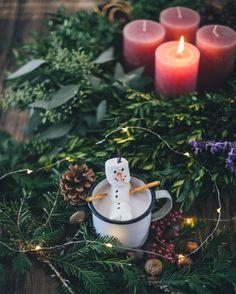 snowman hot chocolat