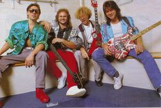 Van Halen w/ Sammy Hagar Eddie Van Halen, Van Halen 2, Van Halen 5150, Alex Van Halen, Van Hagar, Red Rocker, Sammy Hagar, David Lee Roth, Music Pics