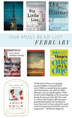 Our Must-Read List For February | theglitterguide.com