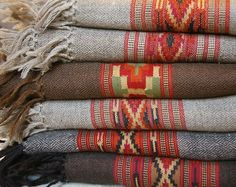 southwestern print blankets