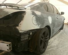 Infiniti G37-almost ready for paint!