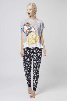 Beauty and The Beast Pyjama Set - Topshop