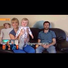 theo with denise and greg