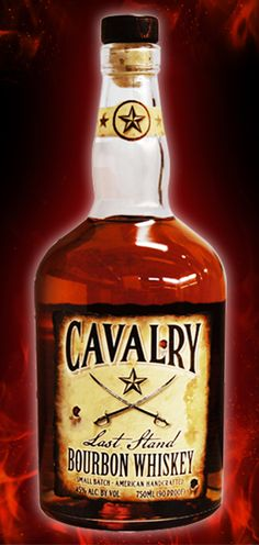 Cavalry Bourbon Whiskey, you can raise your glass and join those proud brothers in spirit.
