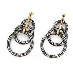 Σκουλαρίκια από ρόδιο και πέτρες Swarovski! #swarovski Stones And Crystals, Gold, Gemstone Rings, Metallic, Gemstones, Earrings, Swarovski, Jewelry, Outfit