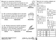 PROBLEMAS DE SUMA Y RESTA