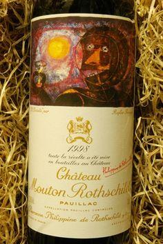 chateau mouton rothschild | Chateau Mouton Rothschild 1998