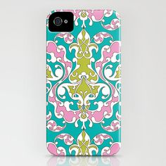 Turkish Vines cell phone case.