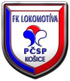 FK Lokomotiva Kosice old , football / soccer logo , Slovakia