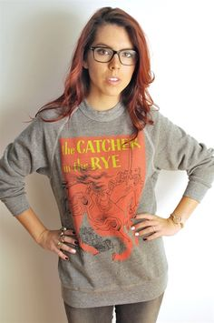 Catcher in the Rye vintage cover pull-over