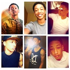My Jacob Latimore collage