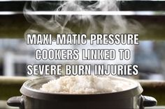 Maxi-Matic is facing lawsuits filed by consumers who allege the company's Elite Bistro and Elite Platinum pressure cookers are linked to serious burn injuries. Product Liability, Burn Injury, Cookers, Serious Injury, Food, Essen, Meals, Yemek, Eten