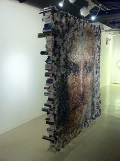 Yunwoo Choi's Large Sculptures Made of Rolled Magazines