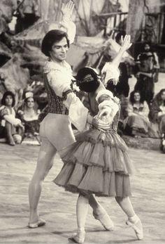 Rudolf Nureyev and Lucette Aldous, 'Don Quixote', 1973