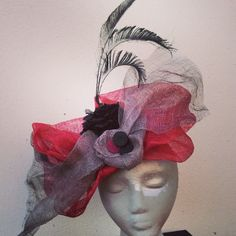 Sigueme en FB: www.facebook.com/... #miami #design #fascinatorhats #fashion #tocados #moda #sevilla