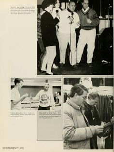 """Athena yearbook, 1992. """"Dads' Weekend Returns."""" :: Ohio University Archives"""