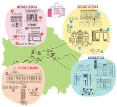 best shops in london map of london shops time out london