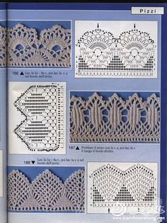 "(Uncinetto) [   ""Thread Crochet Edging & Patterns..."",   ""Crochet Lace Edge Trim Border"",   ""Tutorial for Crochet, Knitting... Keka❤❤❤"",   ""I need to get a little faster or these would take me a while to do..."",   ""szydełko /wzór / so nice Mais"",   ""Gallery.ru / Фото - 12 - kento"",   ""By Leninha Carmo"" ] #<br/> # #Crochet #Edging #Patterns,<br/> # #Crochet #Borders,<br/> # #Crochet #Edgings,<br/> # #Crochet #Lace,<br/> # #Crochet #Stitches,<br/> # #Crochet #Ideas,<br/> # #Crochet…"