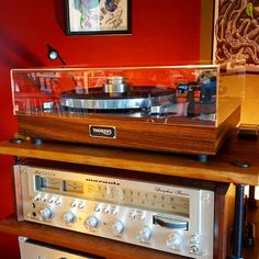 Modified Thorens TD160 and Marantz 2252B