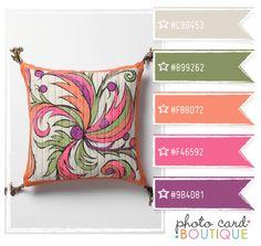 Color Crush Palette · 2.18.2012 photo card Boutique - anthropologie