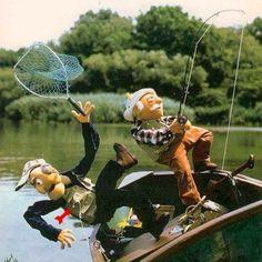#Fishing like a #muppet
