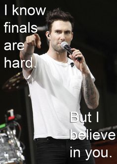 Adam Levine: | Hot Guys To Motivate You ForFinals