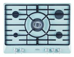 Belling, 5 Ring Hob. With such nie touches in design and colour. Wondering about if a full range double oven is just as good now.