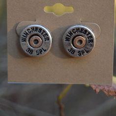 Bullet Stud Earrings Bullet stud earrings, lead and nickel free. Jewelry Earrings