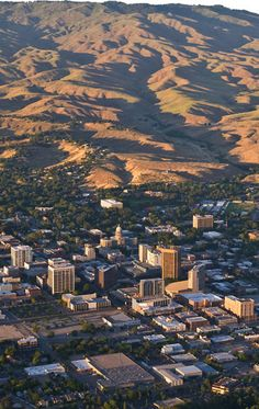 Boise, Idaho. Spent a summer here as kids while Dad sold Hearne Brothers Maps, from Detroit, MI. Beautiful spot!