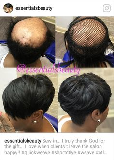 Partial Sew In Short Hair : partial, short, Partial, Sew-In, Ideas, Natural, Styles,, Curly, Styles