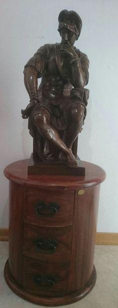 """Lorenzo de Medici"""" by Michelangelo  F BARBEDIENNE Bronze antik 1800-1900   Antiquitäten & Kunst, Kunst, Plastiken & Skulpturen   eBay!"""