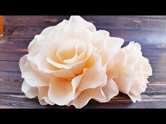 Diy how to make easy felt roses tutorial come realizzare rose in feltro pannolenci San Valentino - YouTube