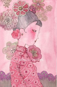 Mademoiselle CHINOISE, by Mitsuko Onodera