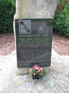 75th Infantry Division, 289th Infantry Reg. Battle of the Bulge 23Dec1944 - 27Jan1945, Colmar Pocket 30Jan1945 - 9Feb1945, Battle for the Ruhr 31Mar1945 - 15Apr1945.  Thank You Sgt. George McCall