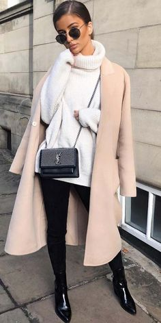 Inspirationsideen Herbst-Winter-Outfits Be Bad … - Herbst Kleidung Mode Outfits, Fashion Outfits, Fashion Trends, Fashion Styles, Style Fashion, Fashion Blouses, Dress Fashion, Fashion Photo, Fashion Bags