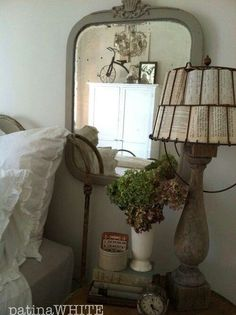 lampshade and whole vignette are great!