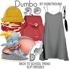 The very things that hold you down are going to lift you up!  #dumbo #backtoschool #disneybound #disneystyle  @leslieakay • • • #Disney #Disneyland #disneyworld #tokyodisneyland #shanghaidisneyland #disneylandparis #wearetrouva #weareus
