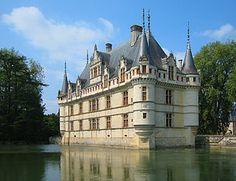 Schlösser der Loire .- Azay - le - Rideau