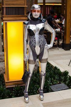 Mass Effect #cosplay A-Kon 24 Dallas, Texas