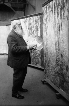 Oscar-Claude Monet by Félix Nadar, 1899.