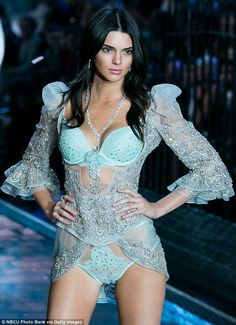 Kendall Jenner on the Victoria Secret Runway