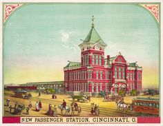 <3  New Passenger Station, Cincinnati, Ohio