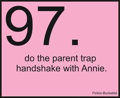 I always tried to learn this when I watched Parent Trap!