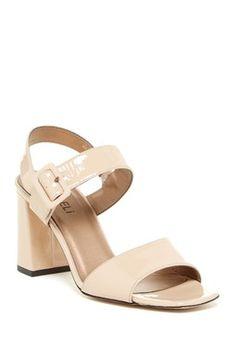 Trine Block Heel Sandal