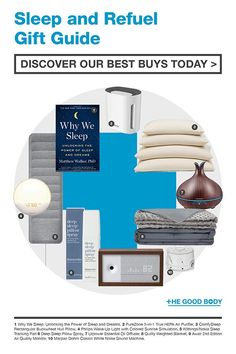 Whether you know a full-blown insomniac, light sleeper or someone just in need of a good night's sleep, we have the perfect gift. From a little affordable treat to a stylish gadget, there are sleep gifts for everyone.